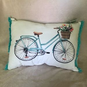 Bicycle Pillow NWT